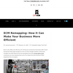 ECM Remapping: How it Can Make Your Business More Efficient