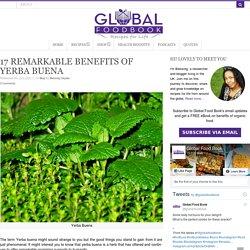 17 REMARKABLE BENEFITS OF YERBA BUENA