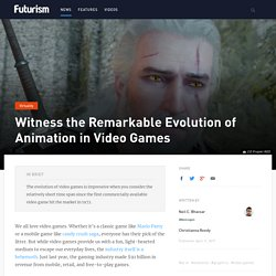 Witness the Remarkable Evolution of Animation in Video Games