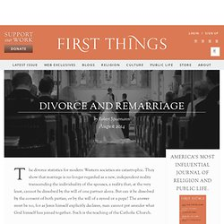 Divorce and Remarriage by Robert Spaemann