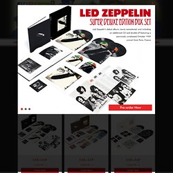 Led Zeppelin - Official Website