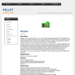 Kelley Computing - Rember