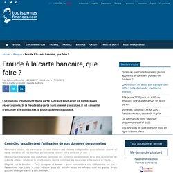Piratage, fraude à la carte bancaire : remboursement et démarches