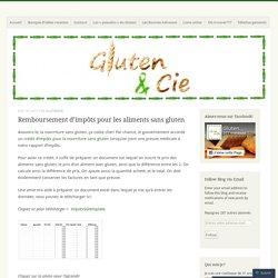 Remboursement d'impôts pour les aliments sans gluten