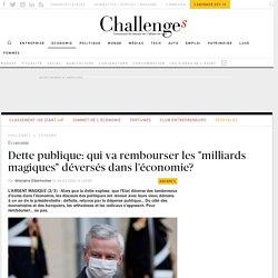 """Dette: le remboursement des """"milliards magiques"""" fait débat"""