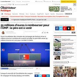 55 millions d'euros à rembourser pour l'UMP : le pire est à venir