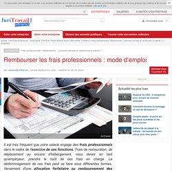 Rembourser les frais professionnels, mode d'emploi