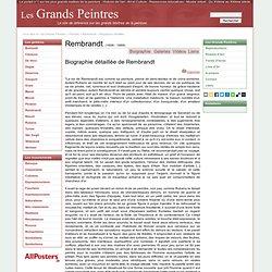 Biographie de Rembrandt