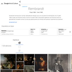 Rembrandt - Google Arts & Culture