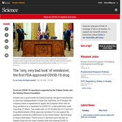 (ENG) Le `` très, très mauvais aspect '' du remdesivir, le premier médicament COVID-19 approuvé par la FDA