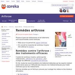 Les remèdes contre l'arthrose - Ooreka