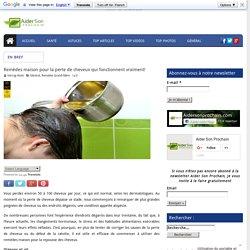 Remèdes maison pour la perte de cheveux qui fonctionnent vraiment!