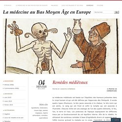 La médecine au Bas Moyen Âge en Europe