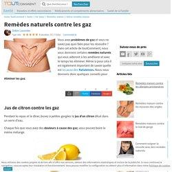 Remèdes naturels contre les gaz - 6 images - ToutComment