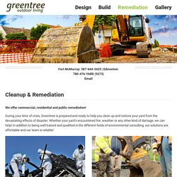 Cleanup & Remediation