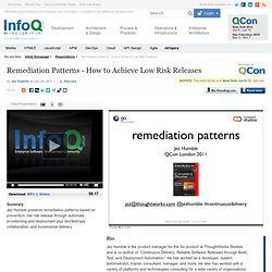 Remediation Patterns
