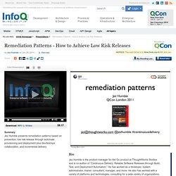 Remediation Patterns