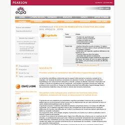 Test COGNIBULLE PROGRAMME DE REMEDIATION COGNITIVE EN LIGNE - Psychologie clinique