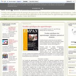 Le blog des remédiations: Troubles spécifiques des apprentissages