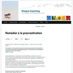 Remédier à la procrastination