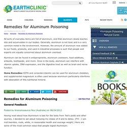Remedies for Aluminum Poisoning