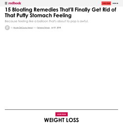 Remedies for Bloating - How to Relieve Bloating