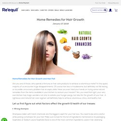 Top 5 Home Remedies for Hair Growth