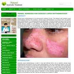 Herbal Remedies for Discoid Lupus Erythematosus