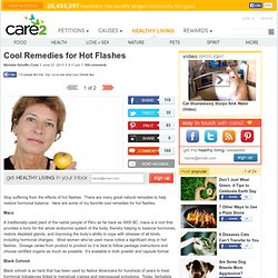 Cool Remedies for Hot Flashes
