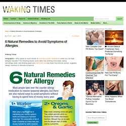 6 Natural Remedies to Avoid Symptoms of Allergies