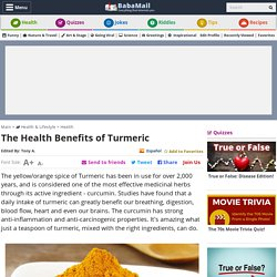 15 Health Remedies That Turmeric Provides You