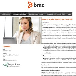 Remedy Service Desk - BMC Remedy ITSM Mesa de Ayuda Remedy