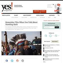 Remember This When You Talk About Standing Rock by Kelly Hayes