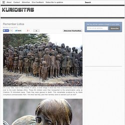 Remember Lidice