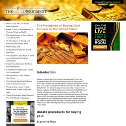 gold investment retirement