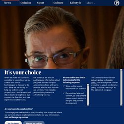 Ruth Bader Ginsburg remembered by Lisa Beattie Frelinghuysen