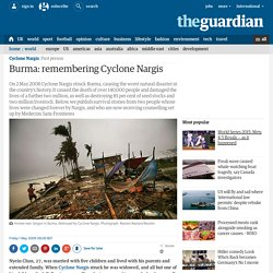 Burma: remembering Cyclone Nargis