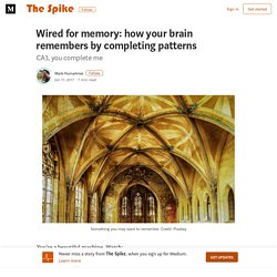 Wired for memory: how your brain remembers by completing patterns