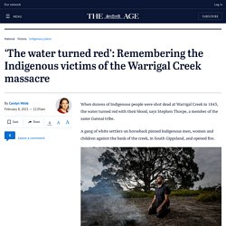Victoria's Deadly & Proud campaign remembers Indigenous victims of Warrigal Creek massacre in South Gippsland
