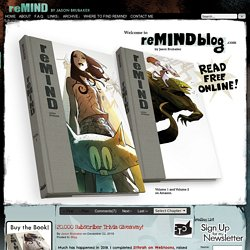 reMIND - - the making of a graphic novel