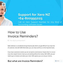 Xero Technical Support Number +64-800995025