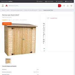 Remise avec fond 1.34m² pas cher à prix Auchan