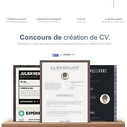 Concours de création de CV, CV Awards