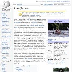 Remo (deporte)
