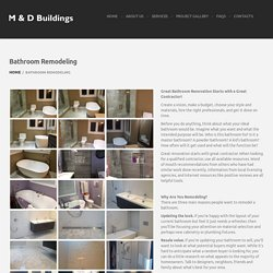 Bathroom Remodelers Mississauga