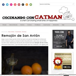 Remojón de San Antón