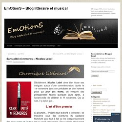 EmOtionS – Blog littéraire et musical