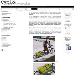 Remorque vélo Bob Yak et Ibex