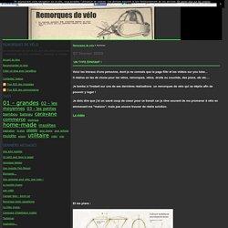 Remorques de vélo - Page 1 - Remorques de vélo