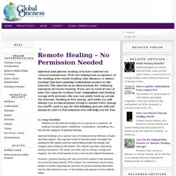 heal - Remote Healing – No Permission Needed